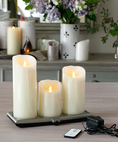 smart candle led blancdejuillet. Black Bedroom Furniture Sets. Home Design Ideas