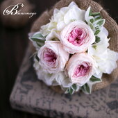 ブーケ花プレゼントプリザーブドフラワーフレンチスタイルの花束