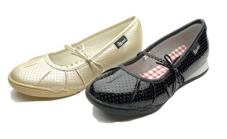 Janet junior and キッズリボン shoes J-711