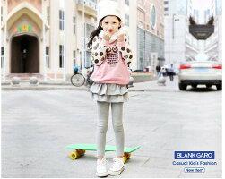 キッズスカッツレギンススカート付レギンス子供服10分丈カットソーふわふわヒラヒラフリルフリフリ女の子女児シンプルカジュアル普段着韓国子供服春夏秋かわいいおしゃれフェミニン100110120130140