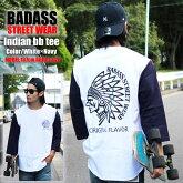 ストリートブランドでB系のBADASSの長袖Tシャツ
