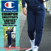 Championのレディースのファッションのパンツ