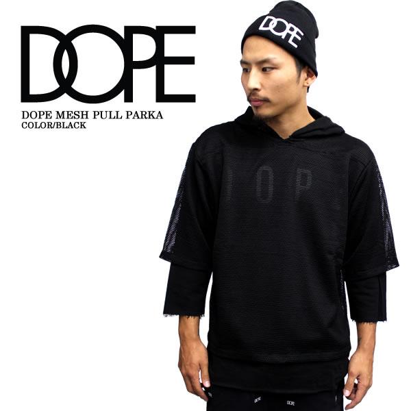 DOPE/ドープゲームシャツLayeredPracticeJerseyレイヤードゲームシャツブラックセレクトショップ帽子パーカー