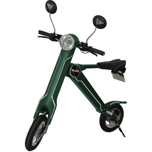 ブレイズスマートEV電動折り畳みバイク公道走行可能ナンバー取得付車両重量18kgBLAZESMARTEV