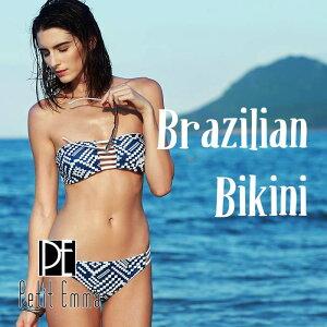 セクシー ブラジリアン バンドゥビキニ レディース ツーピース チューブ バンドゥ セパレート