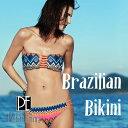BleeeKで買える「オレンジブラジリアンビキニ 2点セット 水着 海 2018年 レディース ビキニ ツーピース バンド バンドゥ バンドゥビキニ セパレート セクシー 水着セット Ladies 女性 女性用 体型カバー ハイネック エスニック柄 リバーシブル」の画像です。価格は1円になります。