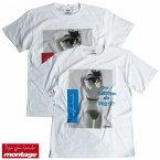 【再入荷/あす楽対応】【montage 正規店】montage モンタージュ 川崎あや Tシャツ グラビア montage x aya kawasaki collaboration T-shirts BACK STYLE ANERCHY TEE