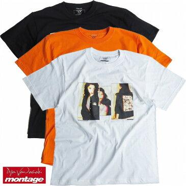 【あす楽対応】【montage 正規店】montage モンタージュ 川崎あや Tシャツ グラビア montage x aya kawasaki collaboration T-shirts THE VIVID TEE