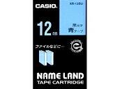 Nemurando tape Casio 12mm wide tape blue / black letters XR-12BU