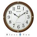 リズム 掛け時計 電波 フィットウェーブライキー 8MYA32SR06 新品お取り寄せ 7,0