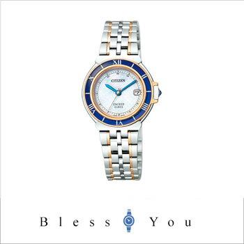 [シチズン]CITIZEN腕時計EXCEEDEUROSエクシードユーロスEco-Driveエコ・ドライブ電波時計ペアモデルES1035-52Aレディース