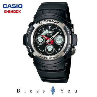 g shock analog watch G-SHOCK combination [Order product] get new AW-590-1AJF gift