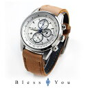 グランドール プラス クロノグラフ 腕時計 GRANDEUR PLUS GRP001E1 19,5 メンズ エルクレザー mp20