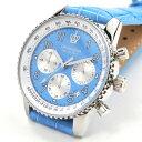 グランドール メンズ 腕時計 クロノグラフ レザーベルト GRANDEUR OSC028W5 2