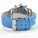 グランドール メンズ 腕時計 クロノグラフ レザーベルト GRANDEUR OSC028W5 3