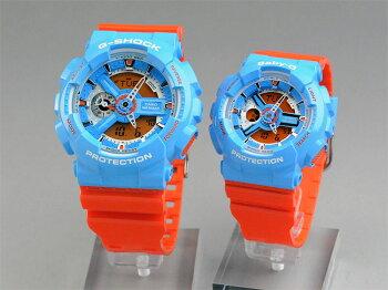 [New]GショックペアウォッチGA-110NC-2AJF-BA-110NC-2AJF30,0【腕時計ペアカップルブランドウォッチ】