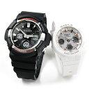 ペアウォッチ gショック g−shock 電波 ソーラー G-shock & Baby-G GAW-100-1AJF/BGA-2500-7AJF 46,0 [腕時計 ペア カップル ブランド ウォッチ]・・・