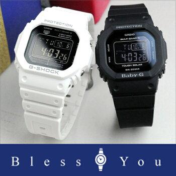[11月発売]Gショック&ベビーGペアウォッチデジタルbkbkソーラー電波時計【ペアウォッチ腕時計ペアカップルブランドウォッチ】GW-M5610MD-7JF-BGD-5000MD-1JF40,0