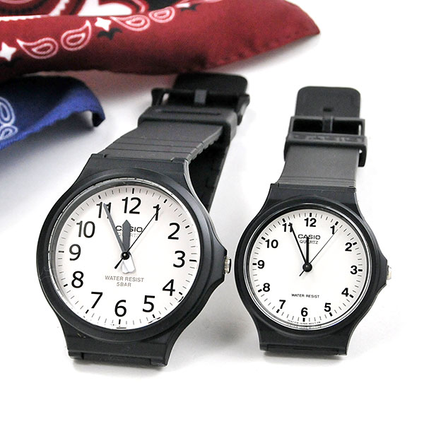 腕時計, ペアウォッチ  CASIO MW-240-7BJF-MQ-24-7BLLJF 59,0