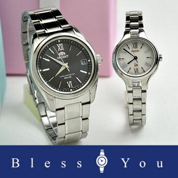 オリエントペアウォッチソーラー電波時計【腕時計ペアウォッチカップルブランド】WV0011SE-WI0111SD70,0