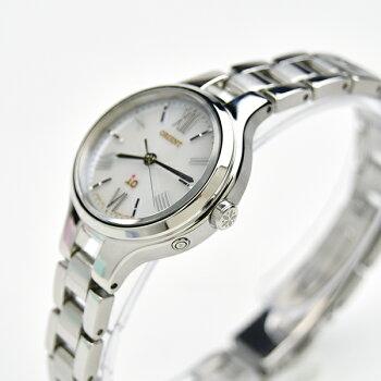 いつも一緒、ペアウォッチオリエントソーラー電波時計bk&wh【腕時計ペアウォッチカップルブランド】WV0011SE-WI0111SD70,0