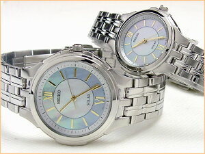 セイコー ソーラー ペアウォッチ 日本国内送料無料 ブランド 腕時計セイコー ソーラー 薄型ドレ...