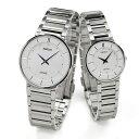 ペアウォッチ セイコー ドルチェ&エクセリーヌ 腕時計 薄型 ドレスタイプ ペア SEIKO DOLCEEXCELINE ホワイト O SACK015-SWDL147 1200 ペア カップル ウォッチ ブランド B10