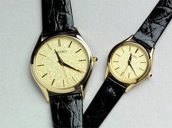 [お取り寄せ]セイコーペアウォッチ腕時計ドルチェ&エクセリーヌ薄型ペアウォッチ革ベルト【新品お取り寄せ】SEIKOSACM150-SWDL160100,0【腕時計ペアウォッチペアカップルウォッチブランドギフトペア腕時計】