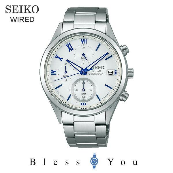 SEIKO WIRED セイコー ソーラー 腕時計 メンズ ワイアード ペアモデル AGAD097 23,0