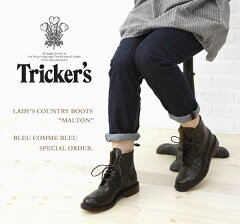 全品ポイント最大64倍★【送料無料】BCB別注*Tricker's(トリッカーズ) レザー レースアップ ...