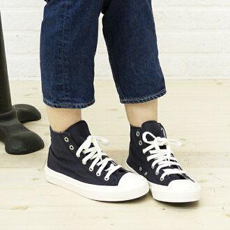 ■ ■ ARMEN (Amen) コットンキャンバスハイ sneaker (washing), NAMC 0702D-0341301