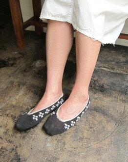 "French Bull (French Bulldog puppy) linen cotton foot cover socks ""チロルカバー"", 110-133-1851302"