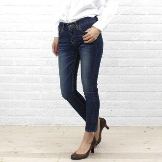 "Cotton stretch ankle length skinny denim ""DENIM EVELYN""-BL-005-1981302"