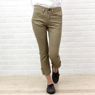"Cotton stretch 9-minute-length pleated crop pants ""PRISCILLA COLORS"", BL-003-1981401"