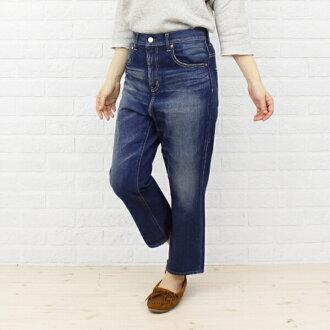 "caqu (サキュウ) cotton denim full-length women's harem pants ""FS Salel Pants (2 years)"", 26003-15-2291302"