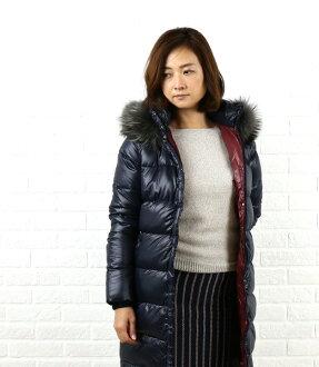 "DUVETICA (duvetica down) nylon down fur hood coat ""DENEB"", DENEB-2241302"