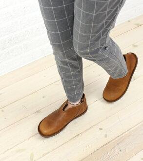 "Oil leather shoes ""SIMPLE""-SIMPLE-PUB-0071502"