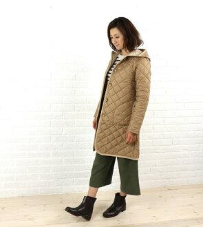 "Liberty quilted coat with hood LAVENHAM (lavenham) polyester ""BRUNDON LIBERTY""-BRUNDON-LIB-0321302"