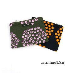 【クーポン対象外】marimekko(マリメッコ)日本限定 コットンキャンバス フラットポーチ…