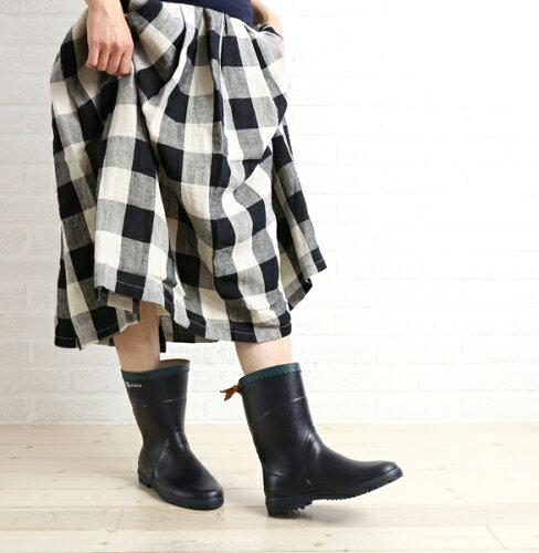 """ミドル丈 長靴 ラバーブーツ """"BISON""""・BISON-0241601【シュー..."""
