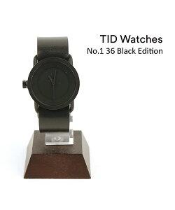 【ティッドウォッチズ TID Watches】 レザーベルトセット 腕時計 レディースウォッチ No.1 36 Black Edition・154553-3701802【メンズ】【レディース】【1F-W】【last_1】