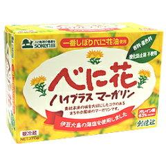 高オレイン酸べに花油が主原料【あす楽対応】べに花ハイプラスマーガリン 370g Bigサイズ!