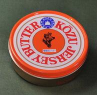濃厚で、リノール酸、カルシュウムも豊富 ジャージ乳が原料神津ジャージー 缶バター 225g ...