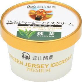 蒜山(ひるぜん)酪農 アイスクリーム 抹茶 120ml