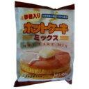 岐阜県産の小麦を使用して作った、ホットケーキミックスです。ホットケーキミックス有糖 400g 桜井食品