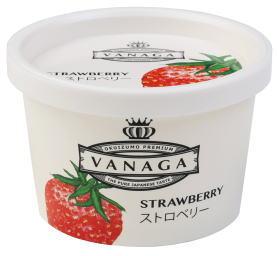 木次 VANAGAいちごアイスクリーム 120ml