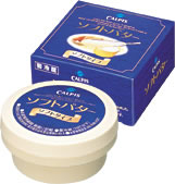 特撰バターを軟らかく練り上げた、塗りやすく上品でまろやかなバターですカルピスソフトバター...