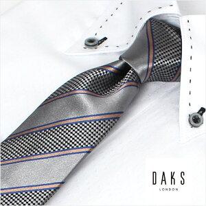 ダックスネクタイ DAKS ネクタイ ダックス ビジネス メンズ/DAKS-D11025COLOR6 ネクタイ 卒業式 成人式 社会人 会社 スーツ おしゃれ かっこいい 送料無料 彼氏 誕生日 プレゼント ギフト ブランド