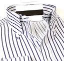 ボタンダウン ワイシャツ 長袖 メンズ 長袖 ワイシャツ Yシャツ 豊富な サイズ ビジネス クール ...