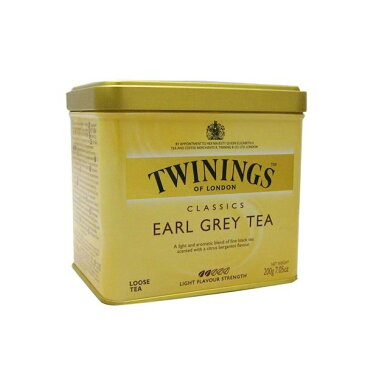 【6個セット】トワイニング紅茶(TWININGS) アールグレイ(EARL GREY)リーフティ 200g×6